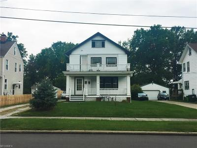 Wickliffe Multi Family Home For Sale: 1706 East 291st St