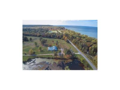 Geneva-On-The-Lake Single Family Home For Sale: 6300 Lake Road W