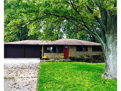 North Ridgeville Single Family Home For Sale: 5976 Wallace Blvd