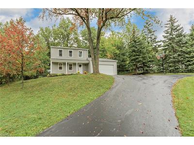 Concord Single Family Home For Sale: 9719 Fox Hill Trl