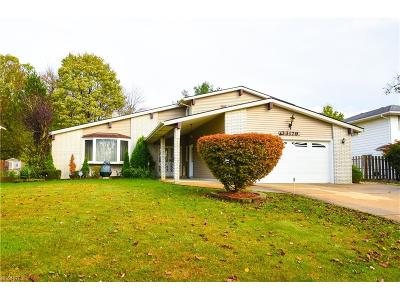 Solon Single Family Home For Sale: 33179 North Roundhead Dr.