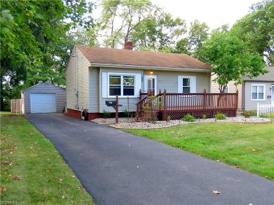 Youngstown Single Family Home For Sale: 158 Winchester Ave