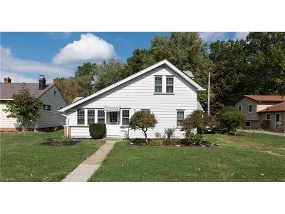 North Olmsted Single Family Home For Sale: 24020 Elm Rd