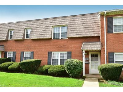Rocky River Condo/Townhouse For Sale: 2757 Pease Dr #B203
