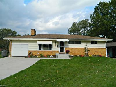 Youngstown Single Family Home For Sale: 2754 Sierra Dr