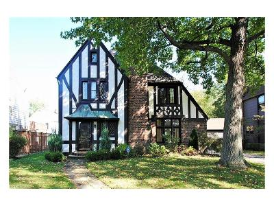 Shaker Heights Single Family Home For Sale: 3267 Braemar Rd