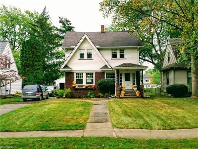 Warren Single Family Home For Sale: 387 Central Parkway Ave Southeast