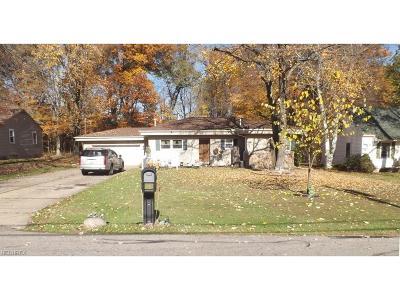 Warren Single Family Home For Sale: 3323 Draper Ave