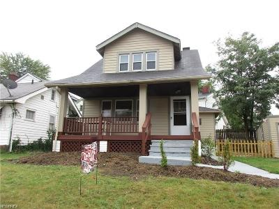 Cleveland Single Family Home For Sale: 3448 West 133rd St