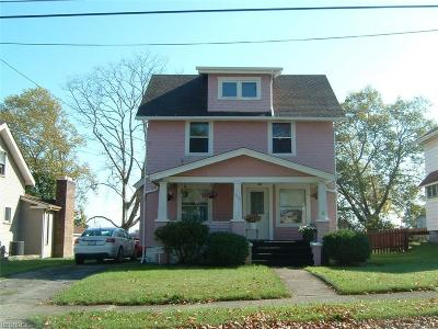 Youngstown Single Family Home For Sale: 155 Millet Ave