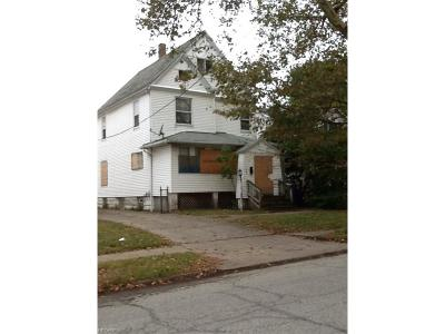 Cleveland Single Family Home For Sale: 528 East 123rd St
