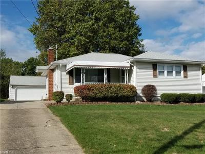 Youngstown Single Family Home For Sale: 676 North Bon Air Ave