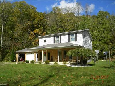 Guernsey County Single Family Home For Sale: 72699 Eighth St Rd