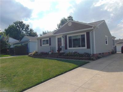 Wickliffe Single Family Home For Sale: 1744 Rush Rd