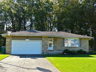 Mentor Single Family Home For Sale: 7410 Ford Dr