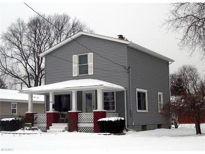 Geneva Single Family Home For Sale: 339 West Liberty St