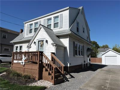 Struthers Single Family Home For Sale: 63 Como St
