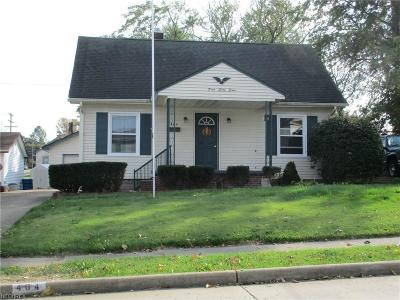 Struthers Single Family Home For Sale: 464 Elm St