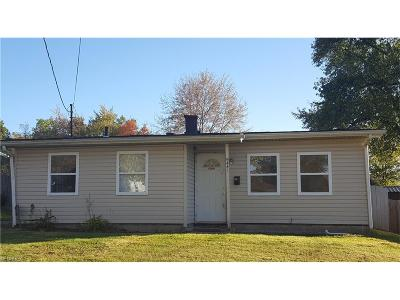 Girard Single Family Home For Sale: 441 Indiana Ave