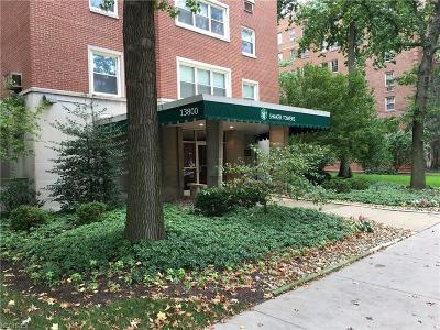 Cleveland Condo/Townhouse For Sale: 13800 Shaker Blvd #706