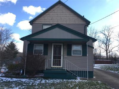 Struthers Single Family Home For Sale: 52 Prospect St