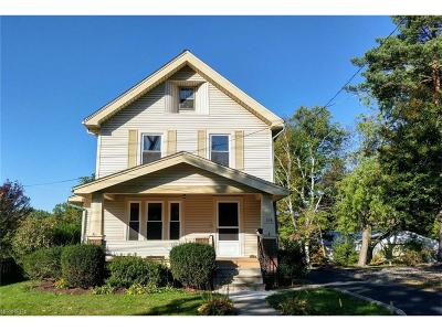 Wadsworth Single Family Home For Sale: 158 Fairlawn Ave