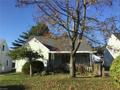 Poland Single Family Home For Sale: 1544 Thalia Ave