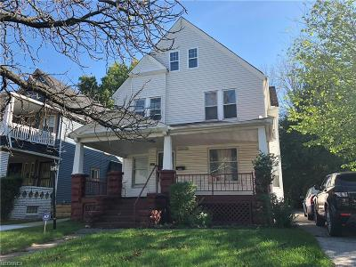 Cleveland Single Family Home For Sale: 2267 East 89th St