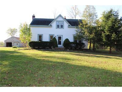 Madison Single Family Home For Sale: 7504 Warner Rd