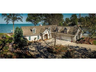 Avon Lake Single Family Home For Sale: 33826 Lake Rd