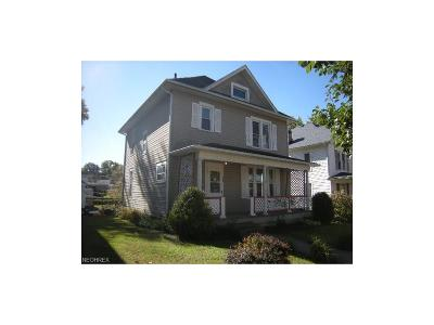 Guernsey County Single Family Home For Sale: 1420 Stewart Ave