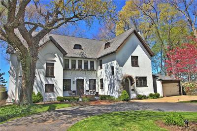 Bratenahl Single Family Home For Sale: 10311 Lake Shore Blvd
