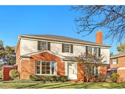 Shaker Heights Single Family Home For Sale: 21899 Rye Rd