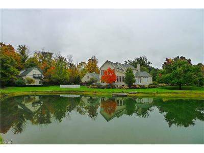 Geauga County Single Family Home For Sale: 15404 Hemlock Point Rd