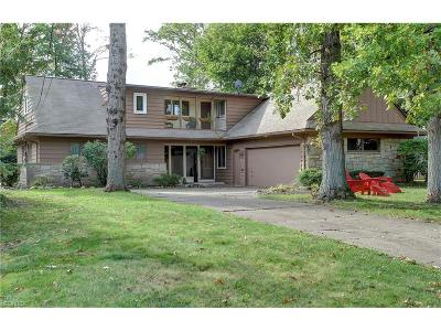 Rocky River Single Family Home For Sale: 22135 Cottonwood Dr