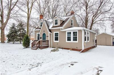 Mentor-On-The-Lake Single Family Home For Sale: 5738 Chagrin Dr
