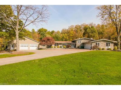 Geauga County Single Family Home For Sale: 8072 Mulberry Woods Dr