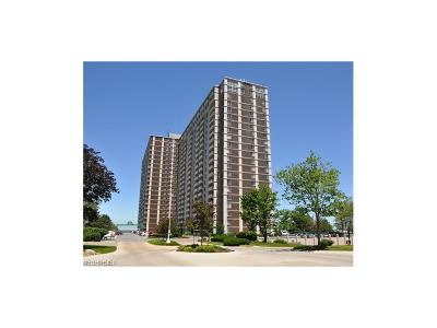 Bay Village, Cleveland, Lakewood, Rocky River, Avon Lake Condo/Townhouse For Sale: 12900 Lake Ave #1227