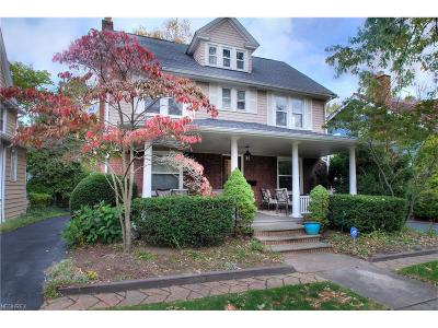 Cuyahoga County Single Family Home For Sale: 2949 Hampshire Rd