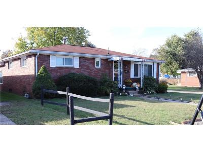 Belpre Single Family Home For Sale: 721 Clayton Ave