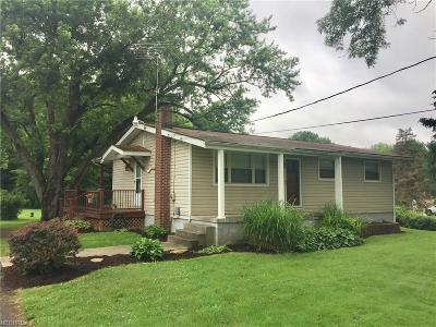 Girard Single Family Home For Sale: 1999 Tibbetts Wick Rd