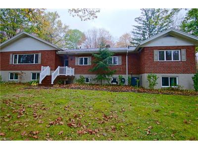 Chagrin Falls Single Family Home For Sale: 10084 Sunset Dr
