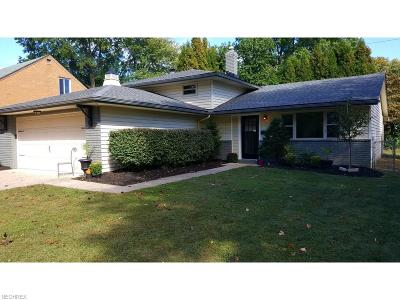 Fairview Park Single Family Home For Sale: 4623 Orchard Rd