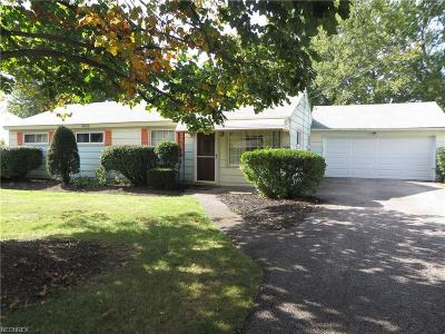 Mentor-On-The-Lake Single Family Home For Sale: 6026 Campbell Rd
