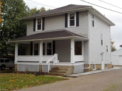Zanesville Single Family Home For Sale: 1260 Newark Rd