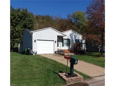 Belpre Single Family Home For Sale: 1626 Hill Street