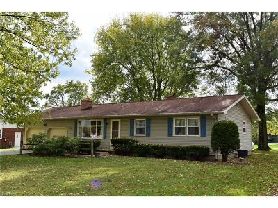 Single Family Home For Sale: 13261 Diagonal Rd