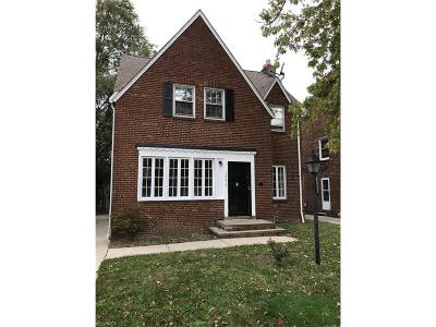 Shaker Heights Single Family Home For Sale: 3552 Ingleside