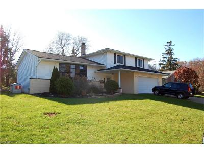 Middleburg Heights Single Family Home For Sale: 14631 Concord Trl