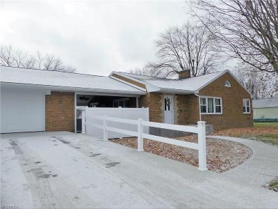 Single Family Home For Sale: 503 East Line